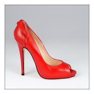 Escarpin Adele Red cuir Rouge Valencey